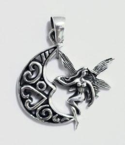 Elfe Silber Anhänger günstig im Ganesha Online Shop