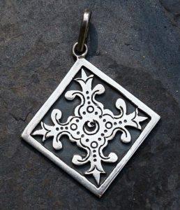 Massiver Silber Anhänger