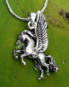 Pegasus Silber Anhänger