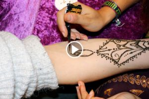 Henna Tattoo Video