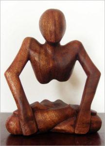 Handgeschnitzte Holzfigur aus Bali - Ganesha Online Shop