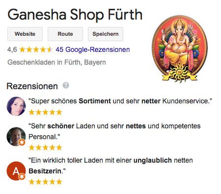 Ganesha Shop bei Google