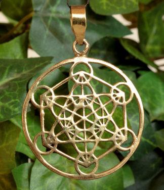 Hexagramm Messing Anhänger im Ganesha Online Shop kaufen