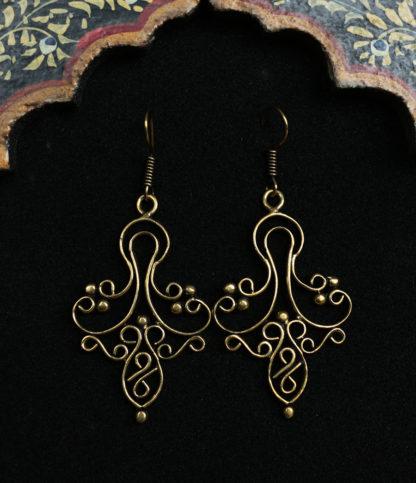 Ohrringe aus Messing im Ganesha Shop kaufen