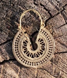 Ohrringe aus Messing im Ganesha Shop Fürth kaufen