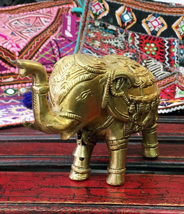 Elefant Messing Statue aus Indien kaufen