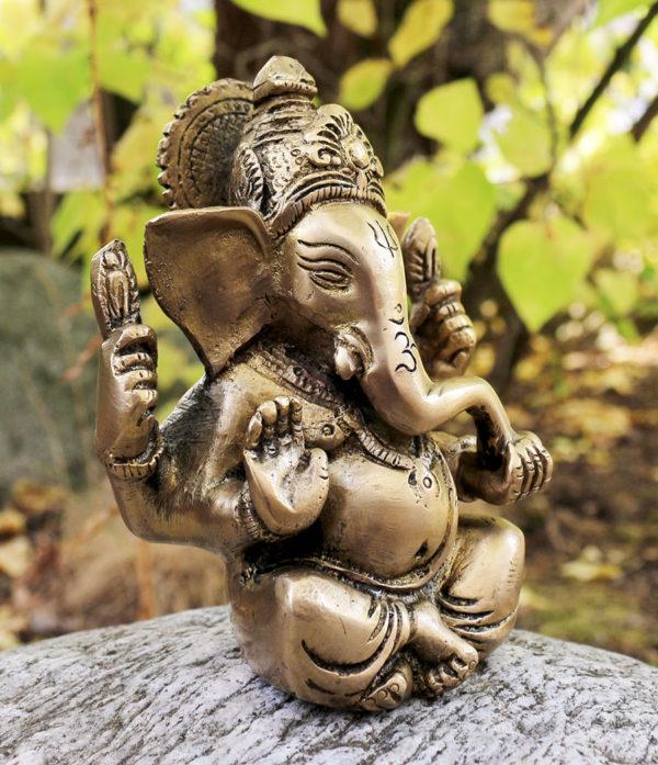 Messing Ganesha aus Indien - preiswert im Ganesha Shop Fürth
