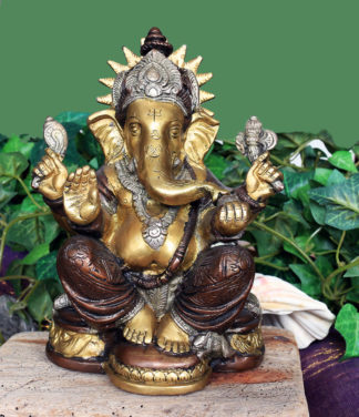Ganesha Messing Statue in Online Shop kaufen