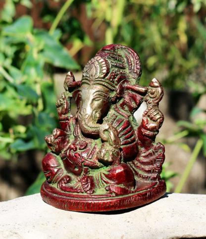 Ganesha Messing Statue im Ganesha Online Shop