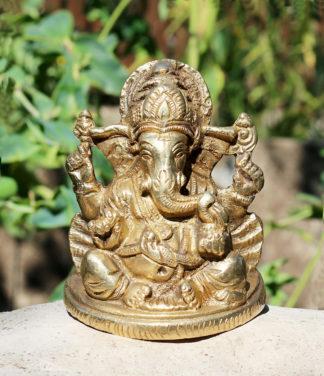 Ganesha Messing Statue im Online Shop kaufen