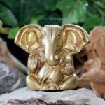 Kleiner Ganesha aus Messing online kaufen