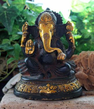 Ganesha Messing Figur Statue