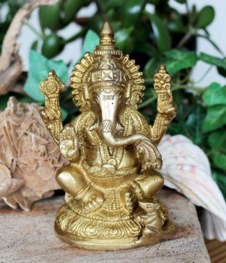 Ganesha Messing Figur Statue kaufen