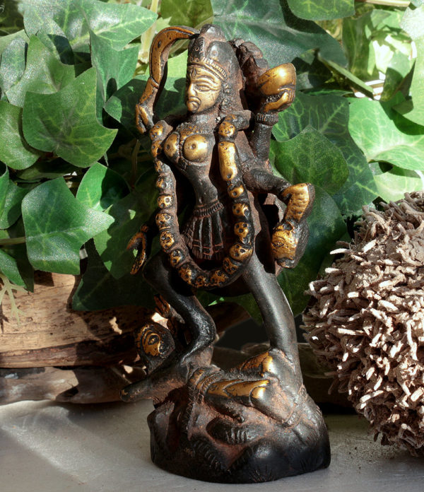 Kali Messing Statue im Ganesha Online Shop
