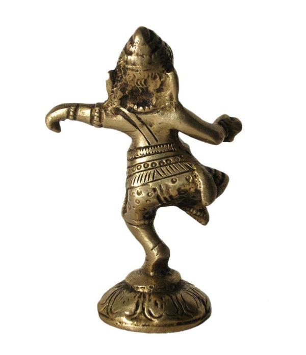 Tanzender Ganesh aus Messing
