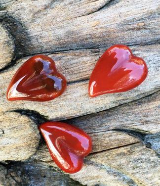 Karneol Herz als Anhänger im Ganesha Shop
