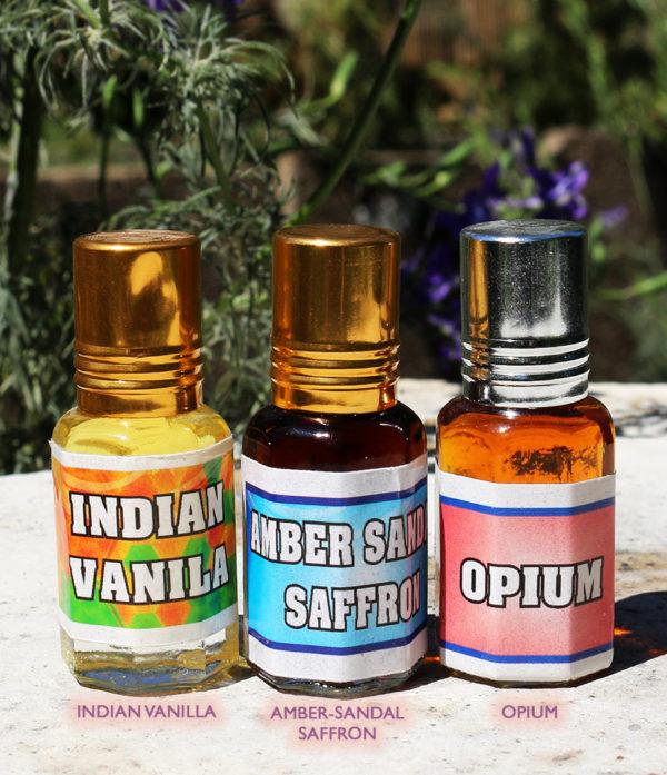 Vanille-Amber Sandelholz Opium -Parfum-Pushkhar