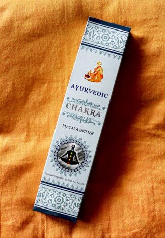 Ayurvedic Masala Chakra Räucherstäbchen im Ganesha Shop