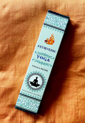 Ayurvedic Masala Yoga Räucherstäbchen im Ganesha Online Shop