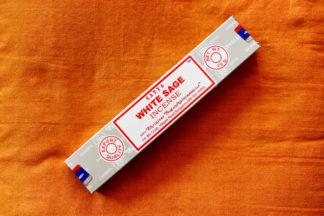 Weißer Salbei Räucherstäbchen im Ganesha Online Shop