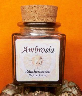 Ambrosia Räucherherzen Räucherwerk im Ganesha Online Shop