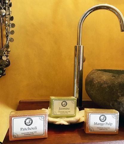 Handgemachte Seifen mit ätherischen Ölen im Online Shop