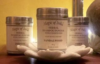 Kräuter Shampoopulver aus Indien im Ganesha Online Shop