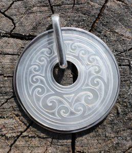 Silber Anhänger mit Perlmutt