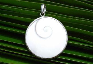 Shiva Eye Anhänger mit Silber