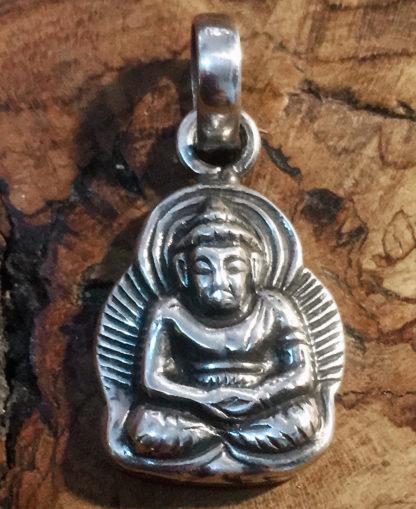 Buddha Silberanhänger günstig im Ganesha Online Shop kaufen