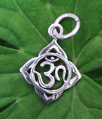OM Silber Anhänger im Ganesha Online Shop kaufen