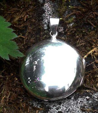 Silber Medallion Anhänger