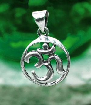 OM Silberanhänger im Ganesha Online Shop