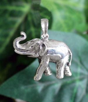 Elefant Silber Anhänger aus Indien im Ganesha Online Shop