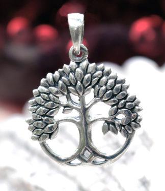 Lebensbaum Silberanhänger im Ganesha Online Shop