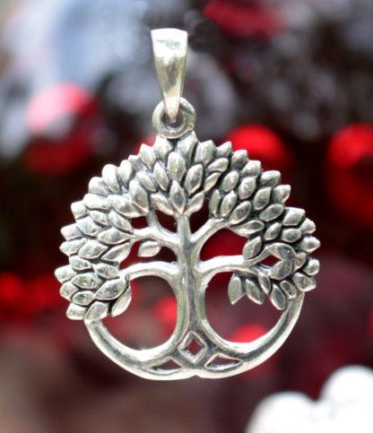 Lebensbaum Silberanhänger