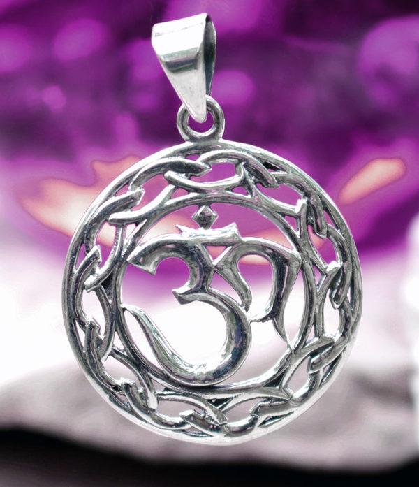 OM Anhänger in Silber aus Indien im Ganesha Online Shop