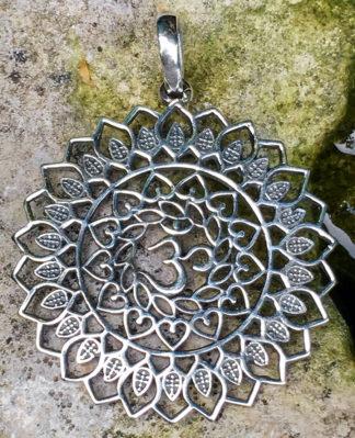 OM Silberanhänger aus Indien im Ganesha Online Shop