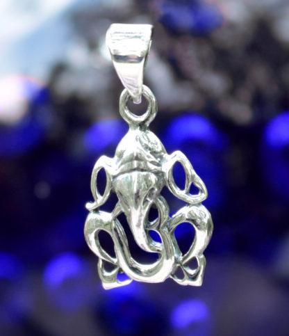 Kleiner Ganesha Silber Anhänger im Online Shop kaufen