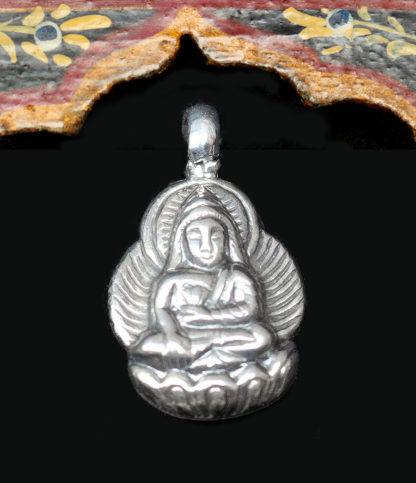Buddha Silber Anhänger im Ganesha Online Shop