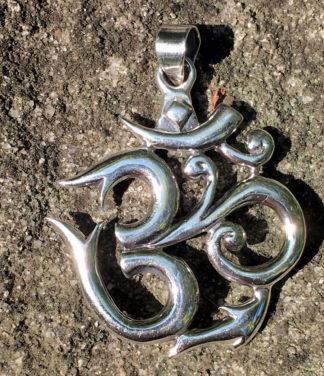 OM Silberanhänger im Ganesha Shop