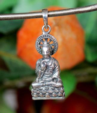 Buddha Silberanhänger aus Indien