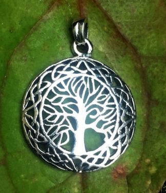 Lebensbaum Silber Anhänger online kaufen