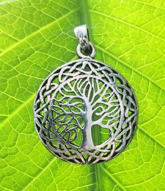 Lebensbaum Silber Anhänger im Online Shop