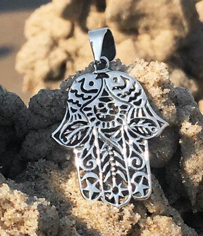 Hand Fatimas Silber Anhänger online kaufen