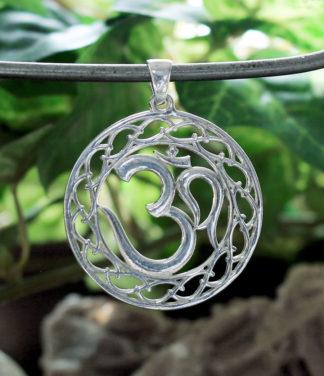 OM Silber Anhänger Ganesha Shop