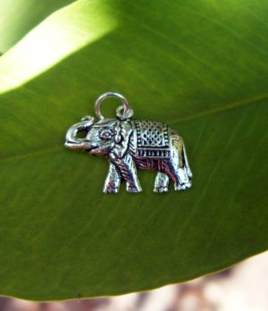 Elefant Anhänger aus Silber
