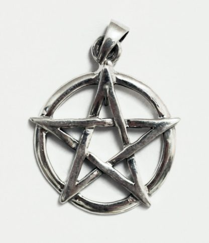 Pentagramm Silber Anhänger