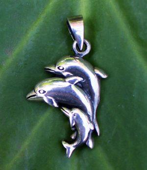 Delfin Silber Anhänger