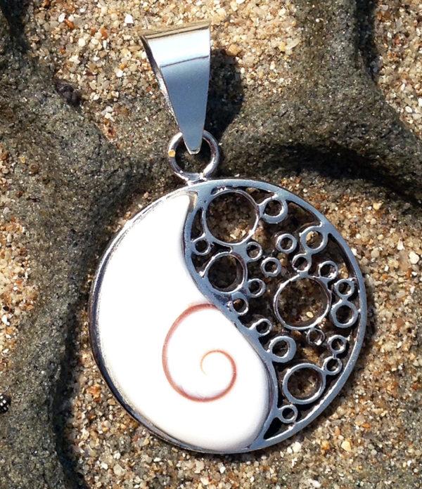Silber Anhänger mit Shiva Eye